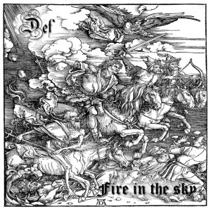 Def - Fire in the Sky cover art