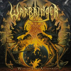 Warbringer - Worlds Torn Asunder cover art