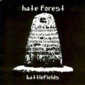 Hate Forest - Battlefields cover art