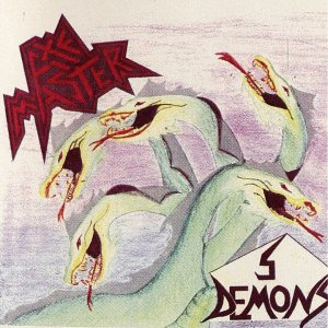 Axemaster - 5 Demons (Imperative is their Demise) cover art