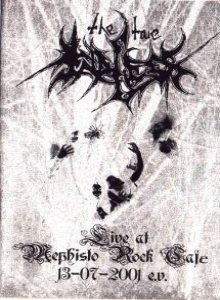 The True Endless - Live at Mephisto Rock Café (13/07/2001 e.v.) cover art