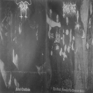 Demonic Rage - Ritual Crucifixión / the Occult Formulas to Desecrate Souls cover art