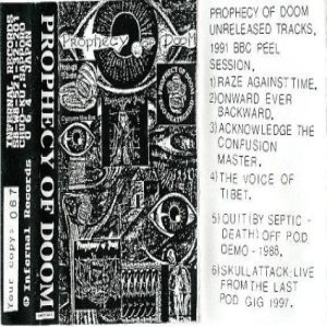 Prophecy of Doom - Unreleased Tracks cover art
