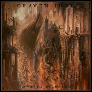 Craven Idol - Towards Eschaton cover art