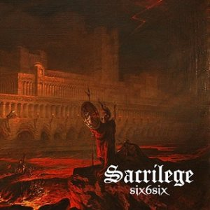 Sacrilege - six6six cover art