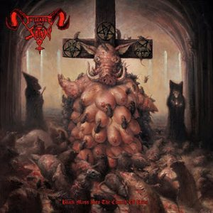 In League With Satan - Black Mass into the Church of Rats cover art