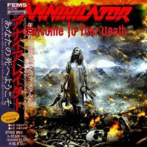 Annihilator - Welcome to Your Death cover art