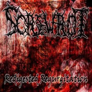 Screwrot - Redigested Regurgitation cover art