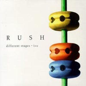 Rush - Different Stages Live cover art