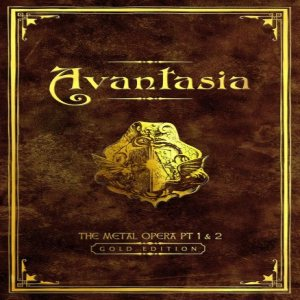 Avantasia - Avantasia: the Metal Opera Part I & II cover art