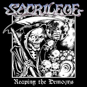 Sacrilege - Reaping the Demo(n)s cover art