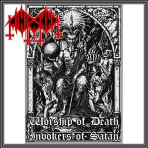 Horrid - Worship of Death / Invokers of Satan cover art