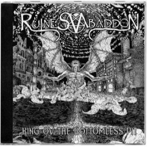 Ruines ov Abaddon - King ov the Bottomless Pit cover art
