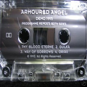 Armored Angel - Demo 1995 cover art
