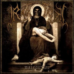 Ragnarok - Malediction cover art