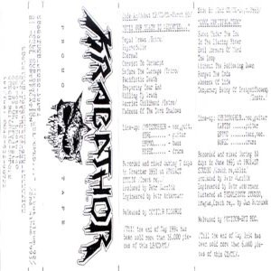Krabathor - Promo Tape cover art