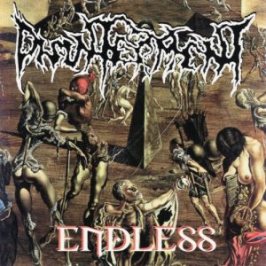 Disinterment - Endless cover art