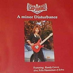 Jack Starr - A minor Disturbance cover art