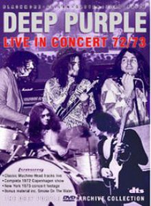 Deep Purple - Live in Concert 1972/73 cover art