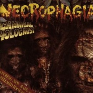 Necrophagia - Cannibal Holocaust cover art