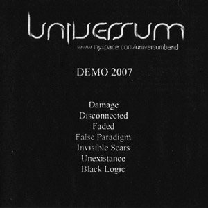 Universum - Demo 2007 cover art