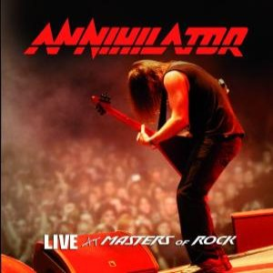 Annihilator - Live At Masters of Rock cover art