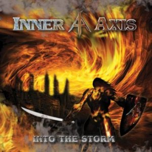 Inner Axis - Into the Storm cover art