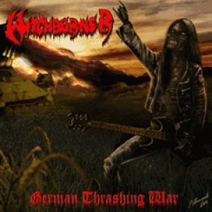 Witchburner - German Thrashing War cover art