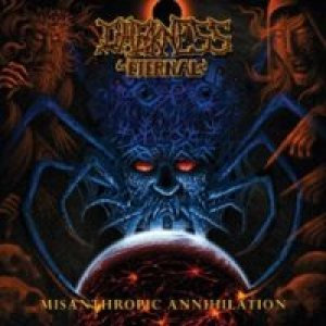 Darkness Eternal - Misanthropic Annihilation cover art