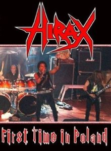 Hirax - First Time in Poland cover art