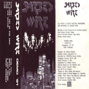 Barbed Wire - Demo '91 cover art