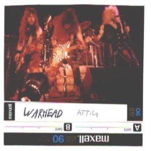 Warhead - Demo 1984 cover art