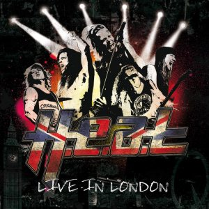 H.E.A.T - Live in London cover art