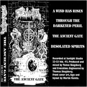 Evocation - The Ancient Gate cover art