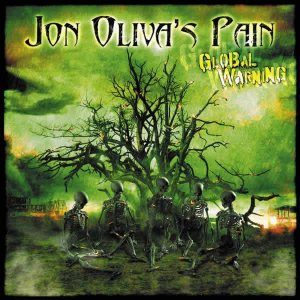 Jon Oliva's Pain - Global Warning cover art