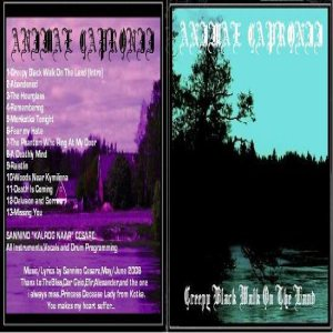Animae Capronii - Creeping Black Walk on the Land cover art