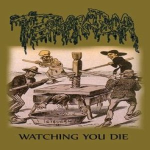 Terrorazor - Watching You Die cover art