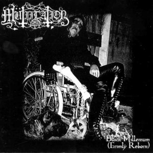 Mutiilation - Black Millenium (Grimly Reborn) cover art
