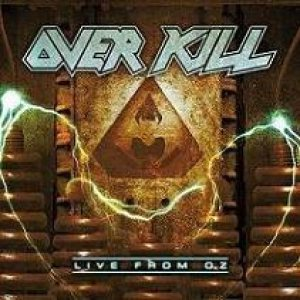 Overkill - Live from OZ cover art