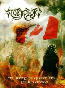Stormlord - The Battle of Quebec City: Live in Canada cover art
