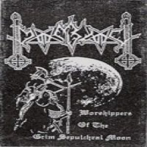 Moonblood - Rehearsal 11 - Worshippers of the Grim Sepulchral Moon cover art