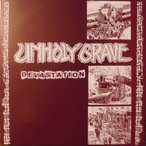 Unholy Grave - Devastation / Untitled cover art