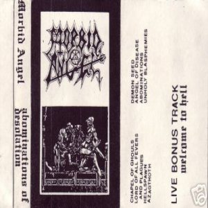 Morbid Angel - Scream Forth Blasphemies cover art