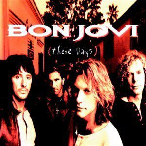 Bon Jovi - These Days cover art