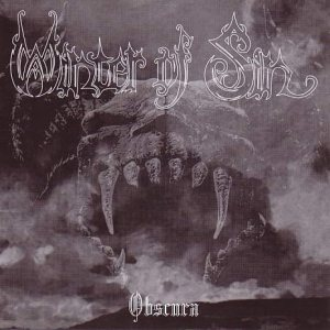 Winter of Sin - Obscura cover art