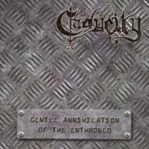 Caducity - The Gentle Annihilation of the Enthroned cover art