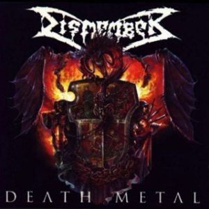 Dismember - Death Metal cover art