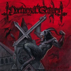 Nocturnal Graves - Satan's Cross cover art