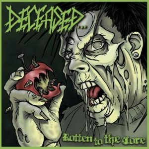 Deceased - Rotten to the Core cover art
