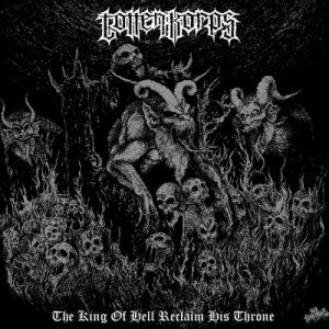 Totten Korps - The King of Hell Reclaims His Throne cover art